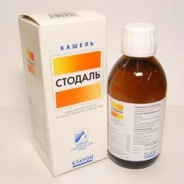 Гомеопатический сироп от кашля «Стодаль»