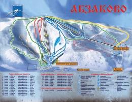 Горнолыжный курорт Абзаково (Россия)