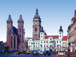 Город Градец-Кралове (Чехия)