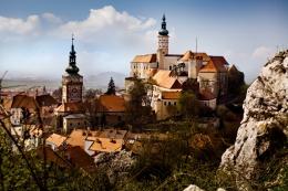 Город Микулов (Чехия)