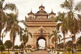 Город Вьентьян (Лаос)
