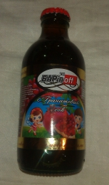 "Гранатовый сок ""Барinoff"""