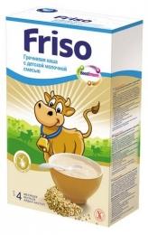 Гречневая каша с детской молочной смесью Friso
