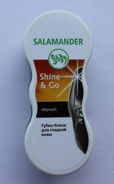 """Губка-блеск для гладкой кожи """"Shine & Go"""" Salamander"""