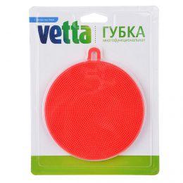 Губка многофункциональная Vetta силикон, 11х1,2 см