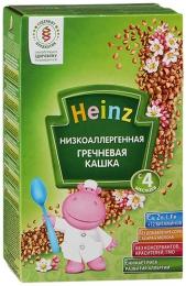 Низкоаллергенная гречневая кашка Heinz с 4 месяцев