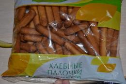 """Хлебные палочки со вкусом сыра """"Здоровый стиль"""""""