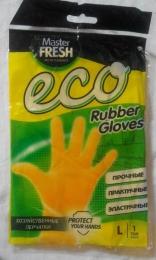 Хозяйственные перчатки Master Fresh Eco Rubber Gloves