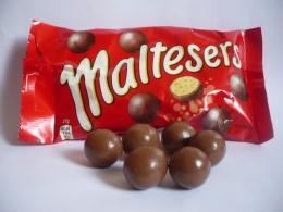 Хрустящие шарики в молочном шоколаде Maltesers