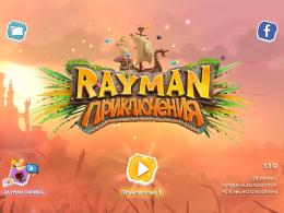 """Игра """"Rayman Adventures"""" для iPad"""