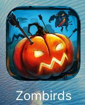 """Игра """"Shoot the zombirds"""" для iPad"""