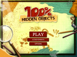 "Игра для ПК ""100 Percent Hidden Objects"""