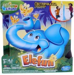 Игра Hasbro Gaming Elefun & friends Слоник Elefun со светящимися светлячками