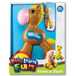 "Игрушка на колесиках  Press & Dash ""Лошадка"" Keenway"