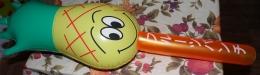 Игрушка надувная Sima-Land фрукты со звуком