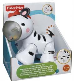 """Игрушка-погремушка Fisher-Price """"Веселая зебра"""""""