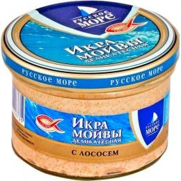 """Икра мойвы деликатесная """"Русское море"""" с лососем"""