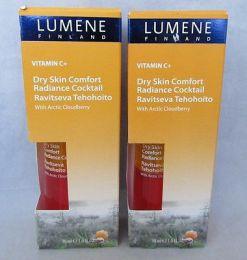 Интенсивный питательный коктейль для склонной к сухости кожи Lumene c экстрактом арктической морошки