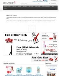 Интернет-магазин корейской косметики Cosmetic-love.com