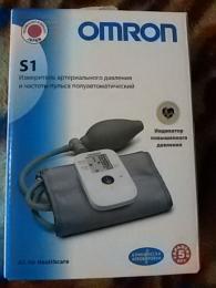 Измеритель артериального давления и частоты пульса полуавтоматический Omron S1
