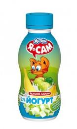 """Йогурт """"Агуша"""" Я сам яблоко-банан 2,2%"""