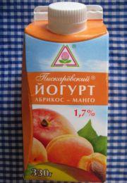 "Йогурт ""Пискарёвский"" Абрикос-манго 1,7%"
