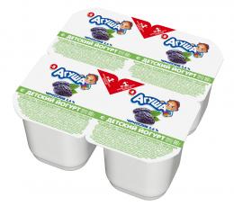 """Йогурт вязкий """"Агуша"""" чернослив, с 8 месяцев, 2,6%"""