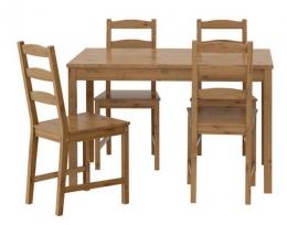 Стол и 4 стула Йокмокк IKEA