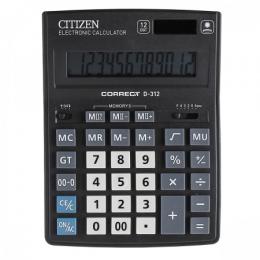 Калькулятор Citizen Correct D-312