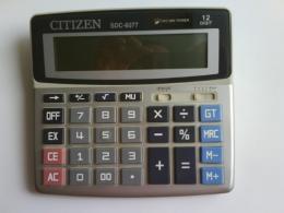 Калькулятор Citizen SDC-6077