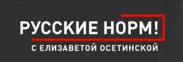 """Канал на YouTube """"Русские норм!"""" с Елизаветой Осетинской"""