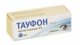 """Капли глазные """"Тауфон"""" Славянская аптека"""