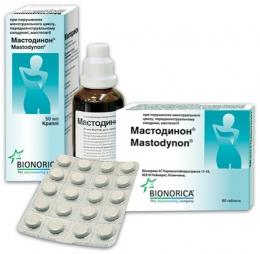 """Капли или таблетки для приёма внутрь """"Мастодинон"""" гомеопатические"""