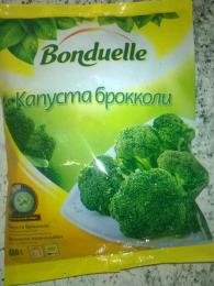 """Капуста брокколи свежезамороженная """"Bonduelle"""""""