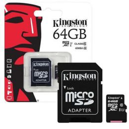 Карта памяти Kingston micro SDXC Class 10