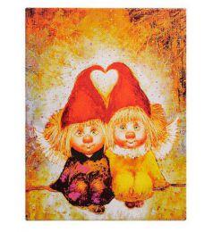 """Картина (жикле) """"Ангелы вечной любви"""", Artangels"""