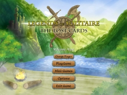 """Карточная игра """"Legends of Solitaire, The Lost Cards"""""""