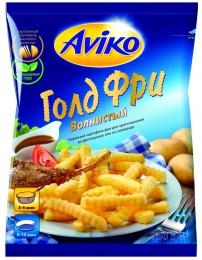 """Картофель фри Aviko """"Голд фри"""" волнистый"""