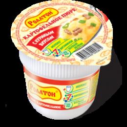 Картофельное пюре Ролтон с куриным вкусом