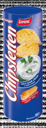 """Картофельные чипсы Lorenz """"Chipsletten"""" со вкусом сметаны и зеленого лука"""