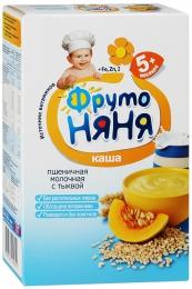 """Каша ФрутоНяня """"Пшеничная молочная с тыквой"""""""