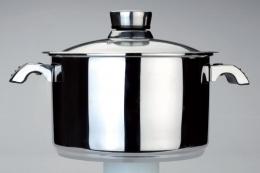 Кастрюля Invico Vitrum BergHoff диаметром 24 см, 6 литров