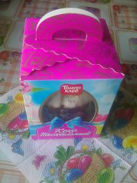 Кекс Пасхальный цукаты и изюм Томин хлеб
