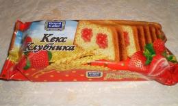 """Кекс """"Royal Cake"""" Клубника"""