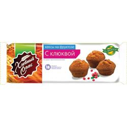 """Кексы """"Хлебный спас"""" с клюквой, на фруктозе"""
