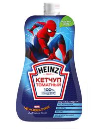 Кетчуп томатный Heinz Человек-паук