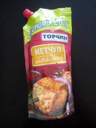 """Кетчуп Торчин """"К шашлыку"""" пастеризованный"""
