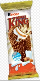 Вафли покрытые молочным шоколадом и лесным орехом Kinder Maxi King