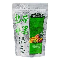 """Китайский зеленый чай Tien Shan Tea Tropico """"Тянь Шань"""" с тропическими фруктами"""