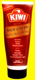 Крем для обуви KIWI Shoe Cream Brown